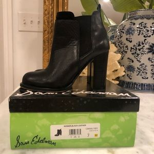 Classic Black Sam Edelman KENNER Booties size 7